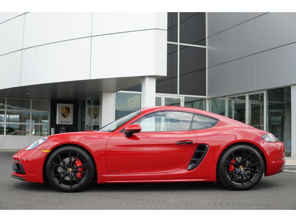 new 2018 porsche 718 cayman gts coupe in liberty lake #190939