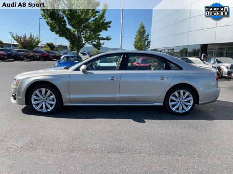 Pre-Owned 2017 Audi A8 Sport